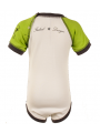 Body bebè Elvis Green/White - Dyno Organic 100%