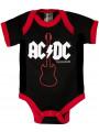 Body Bebè AC/DC Gibson