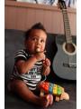 Body bebè Johnny Cash Folsom Stripes