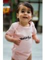 Motörhead Baby Romper Logo Pink photoshoot
