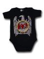 body bebè rock bambino Slayer Silver Eagle
