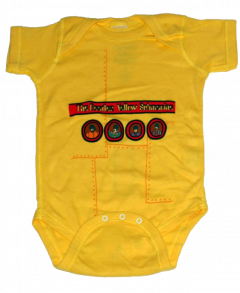 body bebè rock bambino Beatles Yellow Submarine