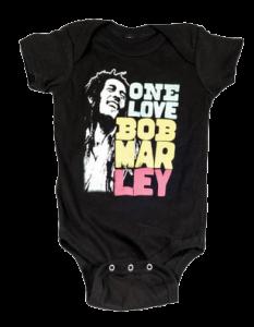 body bebè rock bambino Bob Marley Smile Love