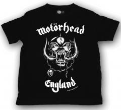 T-shirt bambini Motörhead England Motörhead