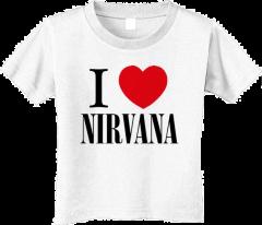 T-shirt bambini Nirvana Love