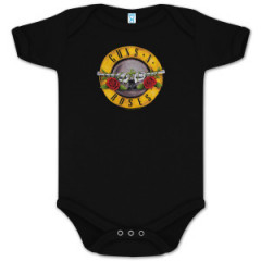 body bebè rock bambino Guns and Roses Bullet