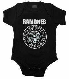 body bebè rock bambino Ramones