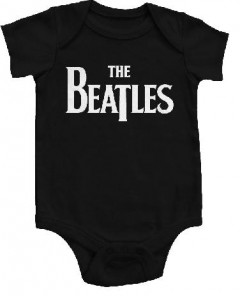 body bebè rock bambino The Beatles Eternal Black