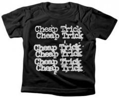 T-shirt bambini Cheap Trick Stacked Logo