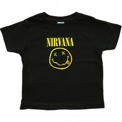T-shirt bambini Nirvana Smiley