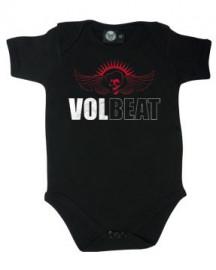 body bebè rock bambino Volbeat Skullwing