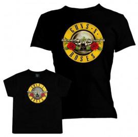 Duo Rockset t-shirt Guns N' Roses per la mamma e t-shirt bambini