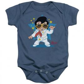 Body Bebè Elvis Singing Blue