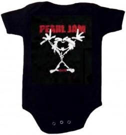 body bebè rock bambino Pearl Jam Stickman