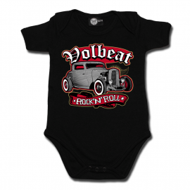 body bebè rock bambino Rock 'n Roll Volbeat