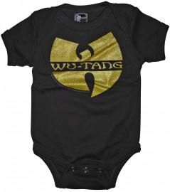 body bebè rock bambino Wu-tang Clan Baby onesie Wutang logo