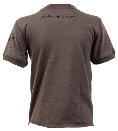 Kiss t-shirt bebè Vintage Black - Dyno Organic 100%