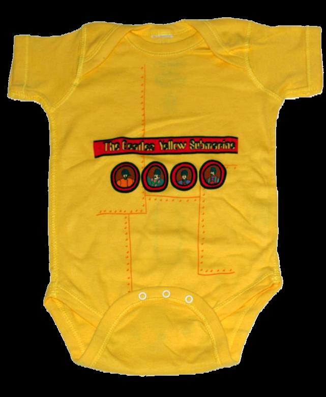 body bebè rock bambino Beatles Yellow Submarine