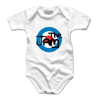 body bebè rock bambino The Jam Target Logo