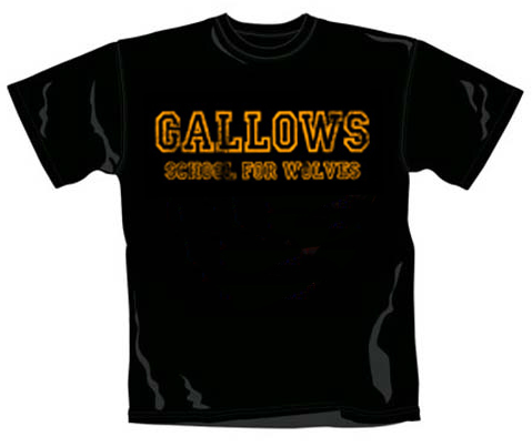 T-shirt bambini Gallows School For Wolves