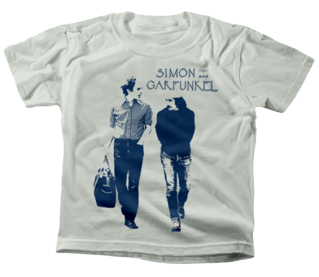 T-shirt bambini Simon and Garfunkel Walking