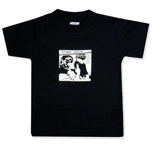 T-shirt bambini Sonic Youth Black Goo