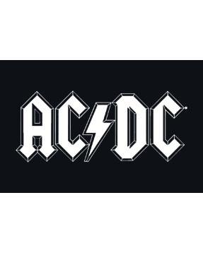 Body bebè AC/DC White Logo