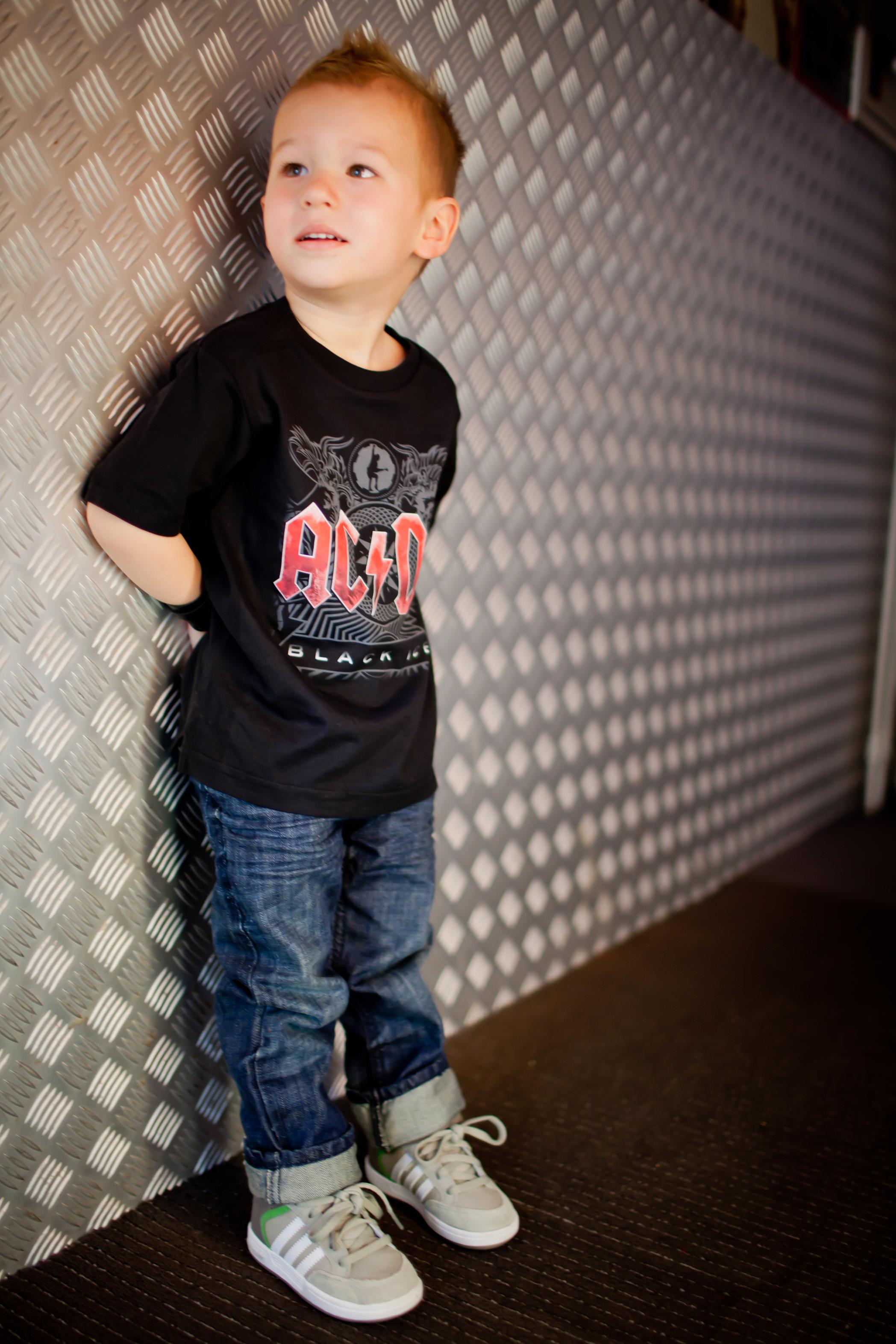 T-shirt bambini AC/DC Black Ice AC/DC