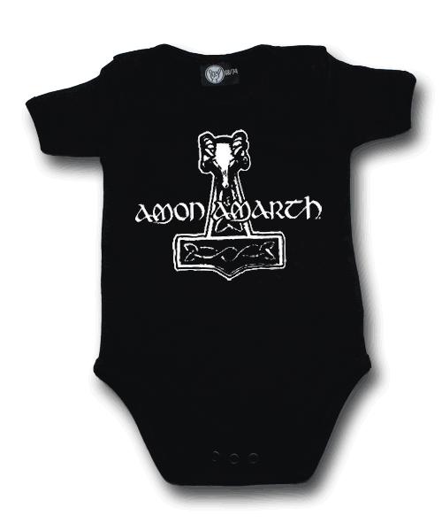 body bebè rock bambino Amon Amarth Hammer of Thor Amon Amarth