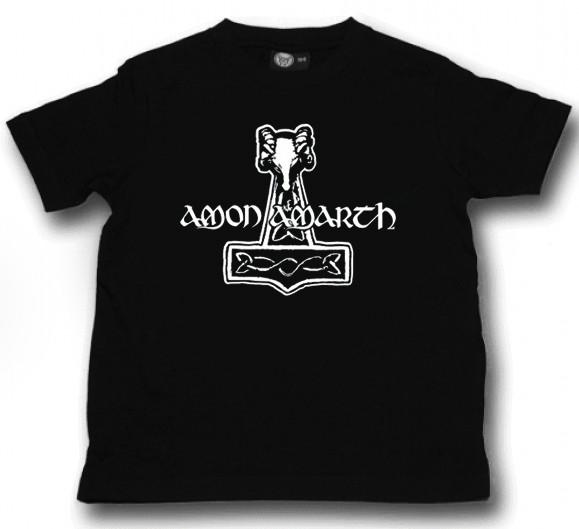 T-shirt bambini Amon Amarth Hammer