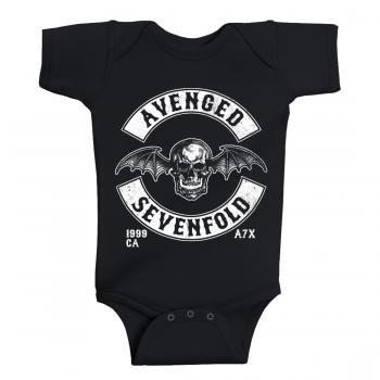 Body per bebè Avenged Sevenfold Deathbat Est 1999