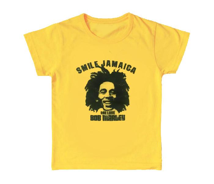 T-shirt bambini Bob Marley Smile Jamaica