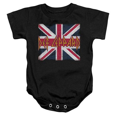 Body bebè Def Leppard Lil Union Jack