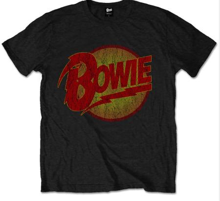 T-shirt bambini David Bowie Diamond Logo
