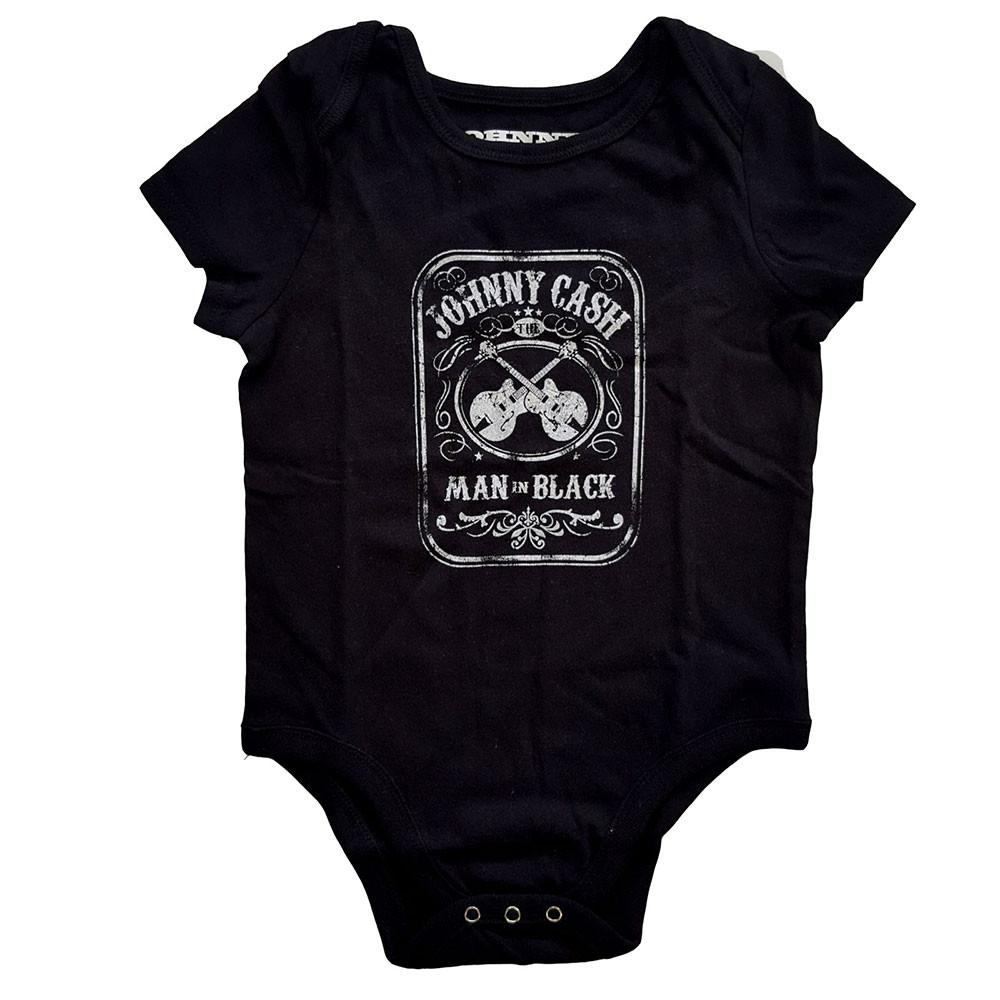 Body bebè Johnny Cash Man in black