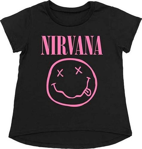 Nirvana t-shirt bambini Smiley Pink