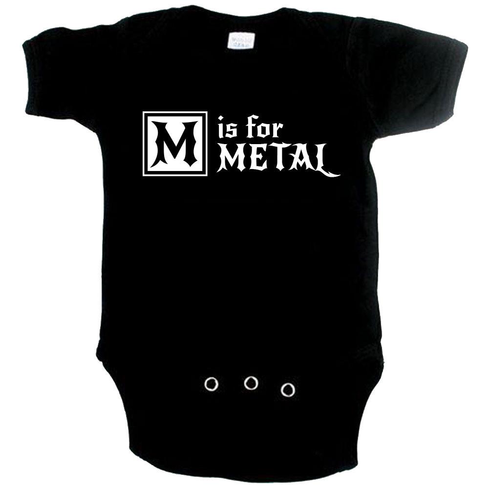 Body bebè Metal M is for metal