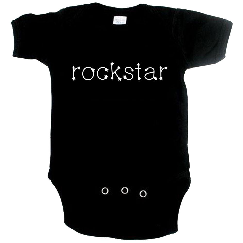 Body bebè Rock rockstar