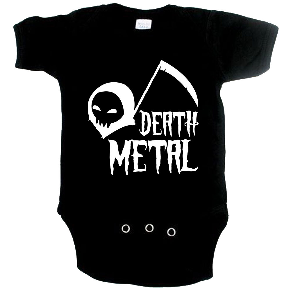 Body bebè Metal death metal