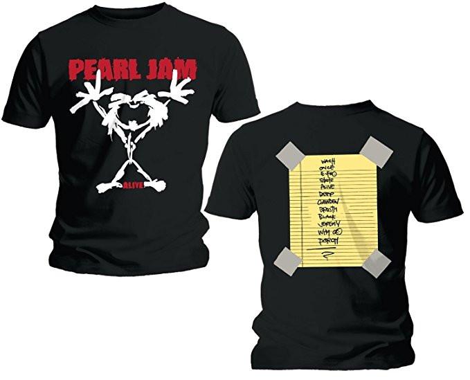 Duo Rockset t-shirt per papà Pearl Jam e Body Bebè Pearl Jam