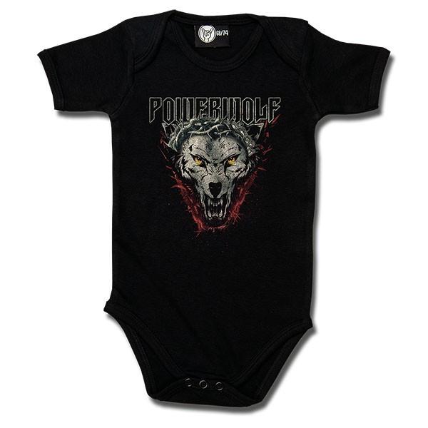 Powerwolf Baby Romper Icon wolf