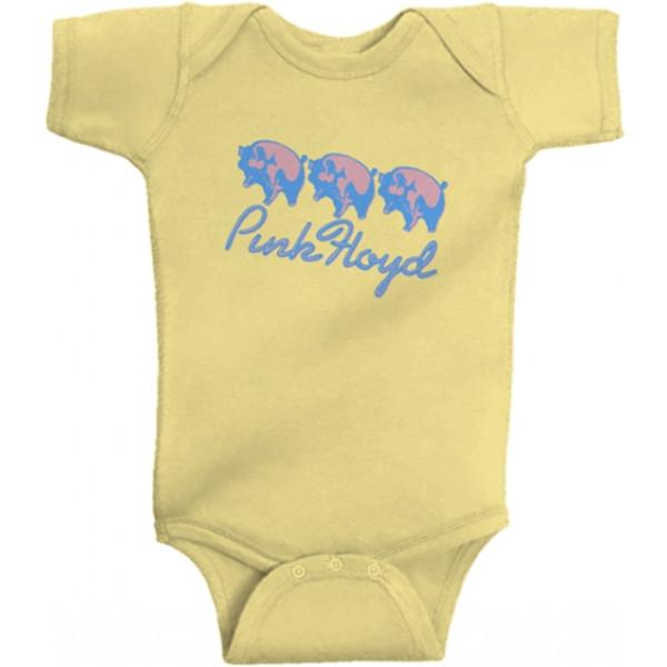 body bebè rock bambino bambino Pink Floyd 'Three Different Ones'