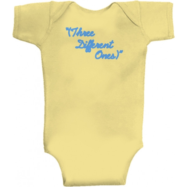 Pink Floyd baby romper 'Three Different Ones'