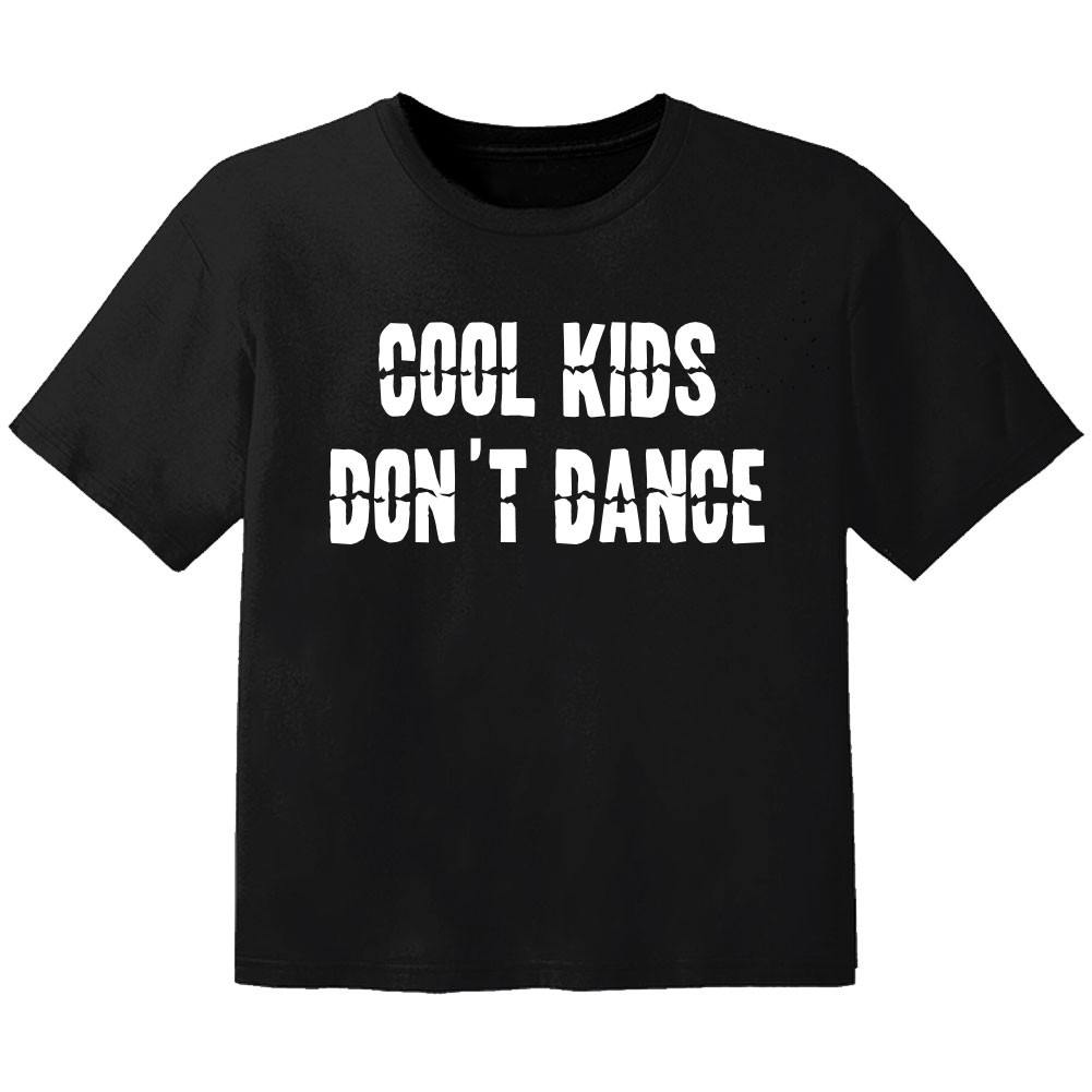 T-shirt Bambino Cool cool kids don't dance