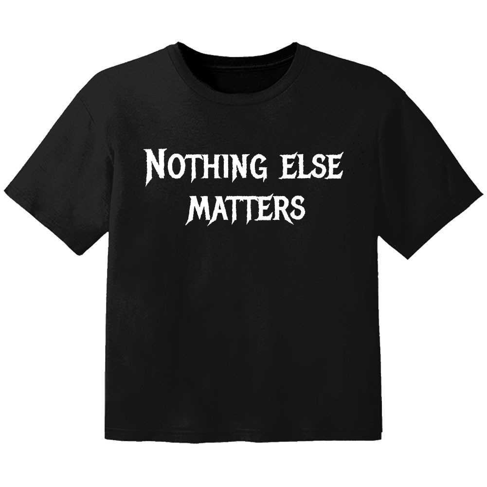 T-shirt Bambino Metal nothing else matters
