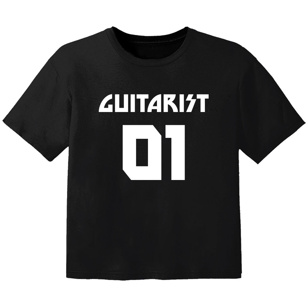 T-shirt Bambino Rock guitarist 01