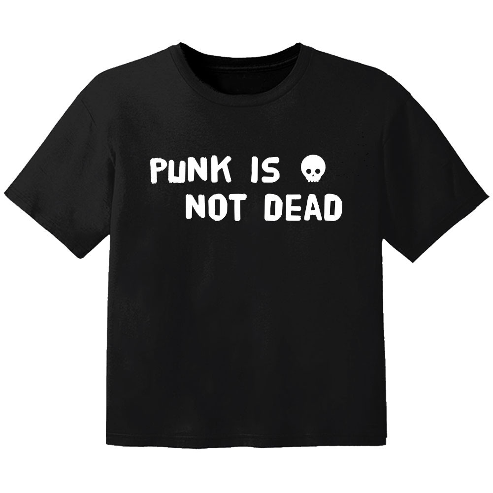 T-shirt Bambini punk is not dead