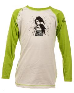 Maglia a manica lunga bebè Amy Winehouse Baseball - Dyno Organic 100%