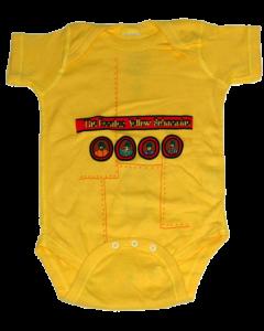 Body bebè Beatles Yellow Submarine