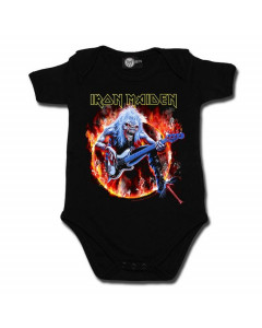 Body bebè metal Iron Maiden FLF